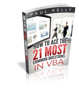 How To Ace the 21 Most Common Questions in VBA