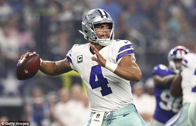 Cowboys quarterback Dak Prescott is 1-1 on the year, but Dallas ranks 29th in points scored