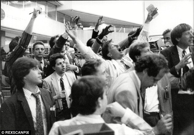Trading places: The old days of the London Stock Exchange trading floor have long gone