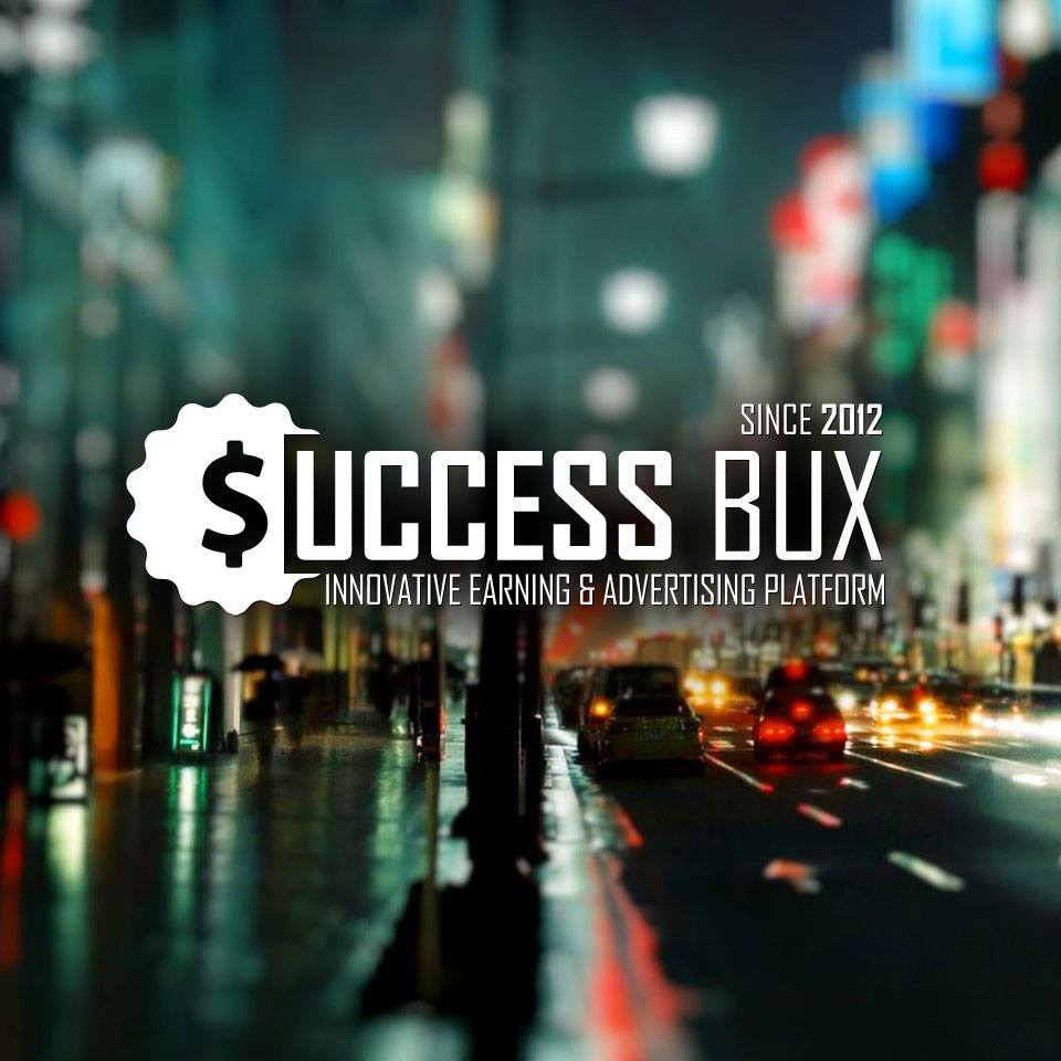 Earn money watching ads with successbux