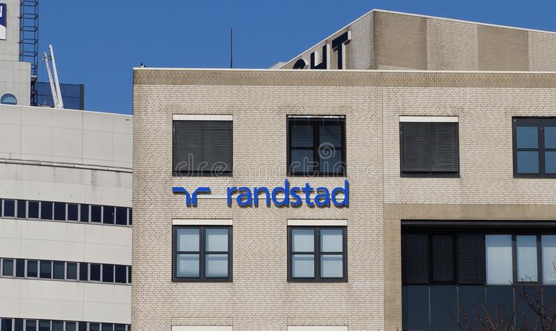 Randstad office building royalty free stock photos